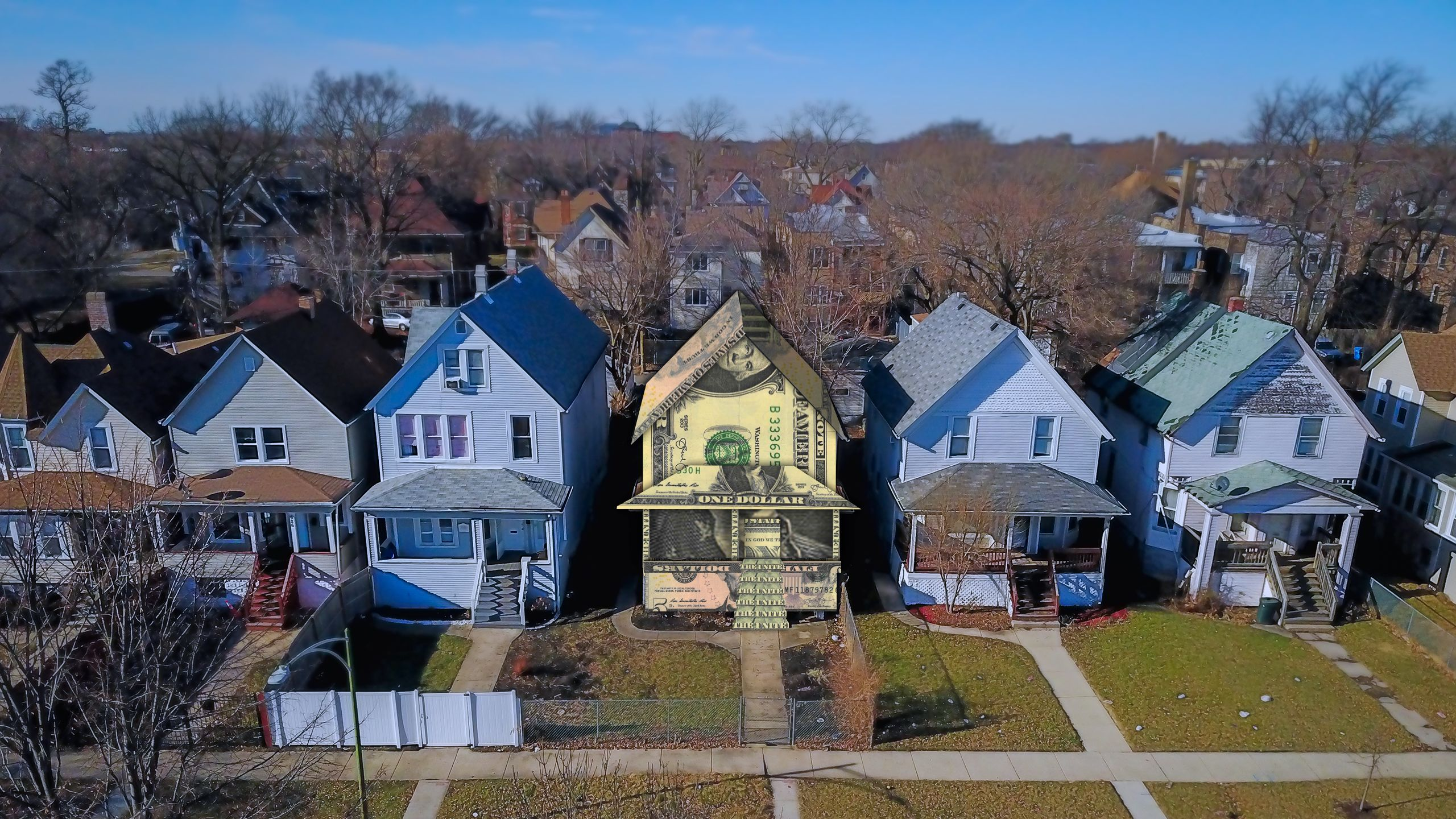 Home Loans in Chicago: One Dollar To White Neighborhoods, 12 Cents To Black
