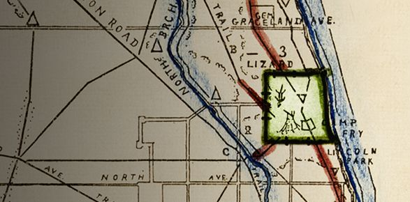 Map Quest: Searching for Chicago's 'Lizard Mound' on